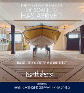 Platform Boat Lift Muskoka Ad