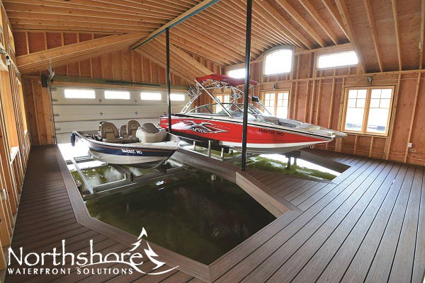 Boat Lifts Garage : Gallery northshore waterfront solutions